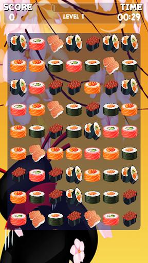 寿司マッチ3ゲーム
