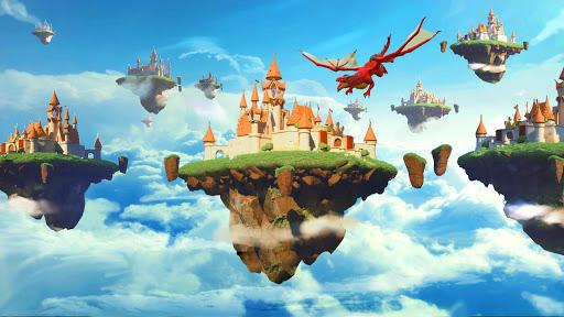 Sky Kingdoms APK MOD – Pièces Illimitées (Astuce) screenshots hack proof 1