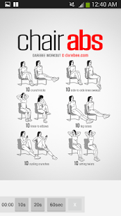 100 Office Workouts: miniatura de captura de pantalla