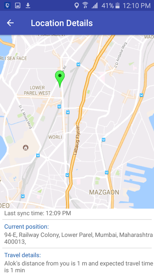 Family Locator with GPS Tracker- screenshot