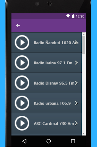Radio Paraguay App for PC