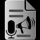 Voz a Texto Texto a Voz icon