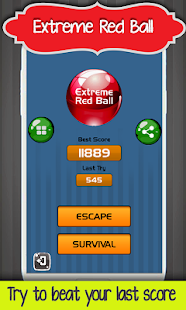 Extreme Red Ball - náhled