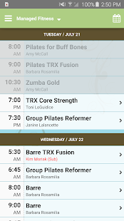 Managed Fitness Barre&Pilates- screenshot thumbnail