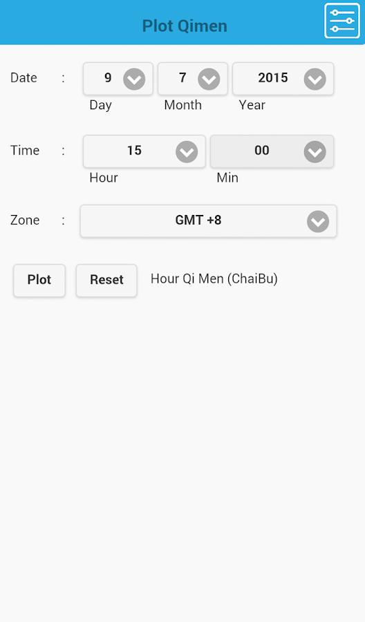 mQimen 奇门排盘- screenshot