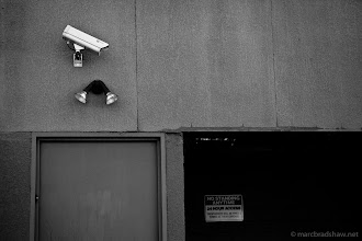 Photo: No standing, you are being watched