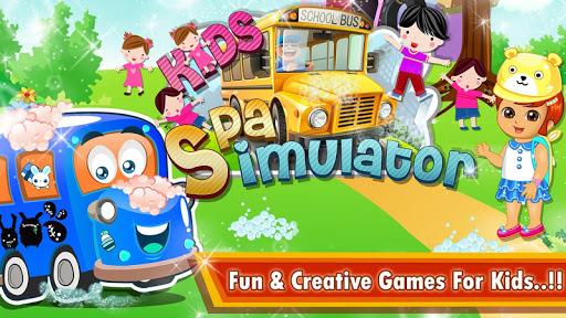 Kids School Bus Spa Simulator 1.0 screenshots 4