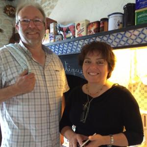 Brigitte et Patrick, vos hôtes du Clos de la Garenne