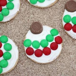 5 Minute Christmas Bauble Cookies.