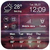 Quick switcher&forecast widget