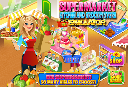 Supermarket Kitchen & Grocery apk screenshot
