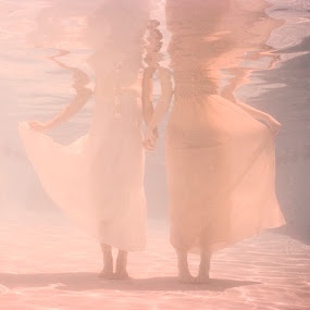 Underwater Fashion Photography by Wesley Spear III - People Fashion ( grace, film, pose, flowy, fashion, peaceful, pool, underwater, dress, underwater photography, fashion photography, graceful )