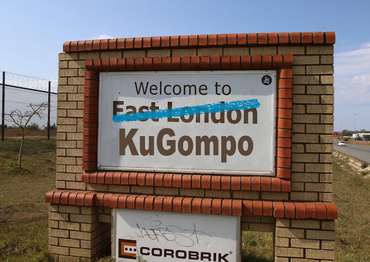 Even though East London had a Xhosa name, eMonti, the now proposed East London name change is KuGompo.