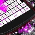 Purple Flame GO Keyboard icon