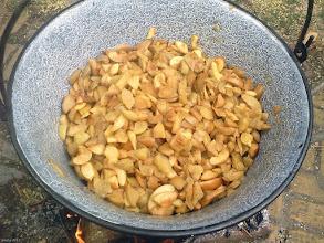 Photo: Smażenie dżemu z jabłek w bograczu 39