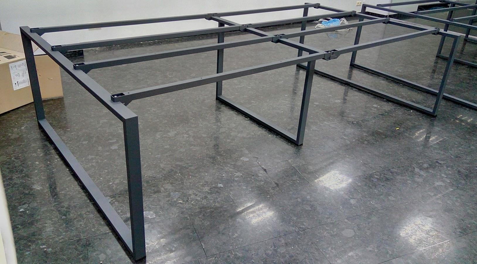 Офисный Стол с металлическим каркасом, Каркасы для конференц столов, Конференц столы на металлическом каркасе