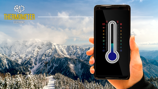 Screenshot for Thermometer with ambient temperature in United States Play Store