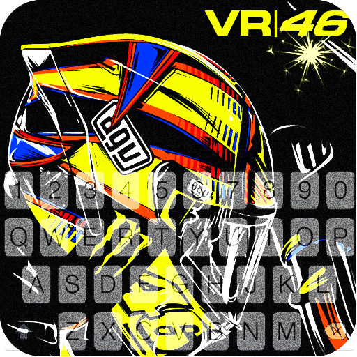 Valentino Rossi 46 Keyboard