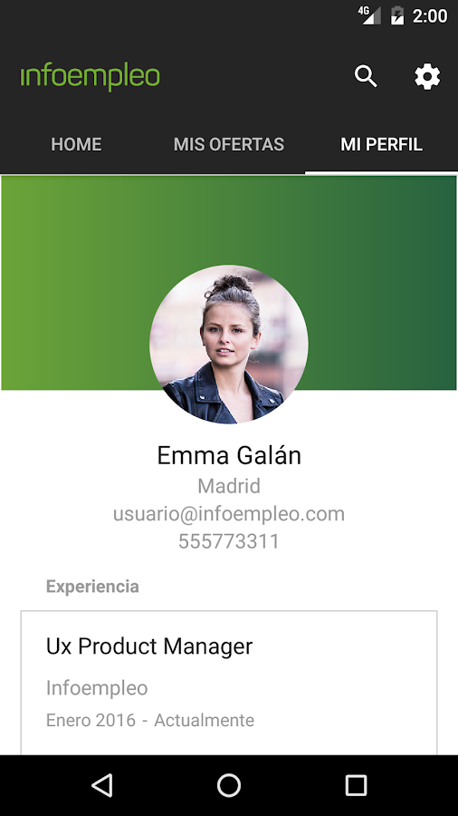 Trabajo y empleo- screenshot