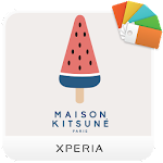 XPERIA™ Kitsuné Summer Theme Icon