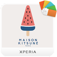 XPERIA™ Kitsuné Summer Theme