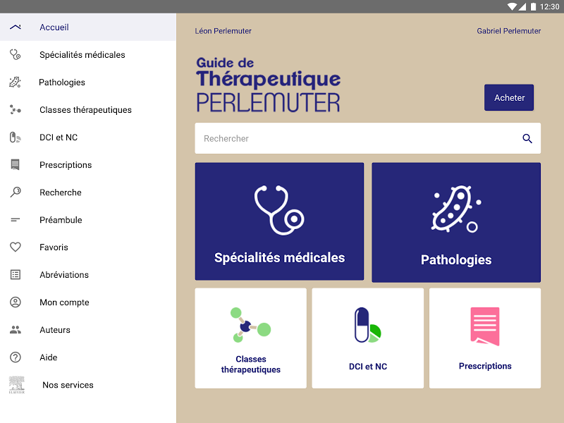 Guide de Thérapeutique Screenshot 4