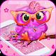 Pink Cartoon Big Eye Owl Theme for PC-Windows 7,8,10 and Mac