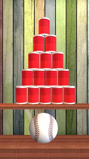 Knock Down Cans : hit cans apktram screenshots 2