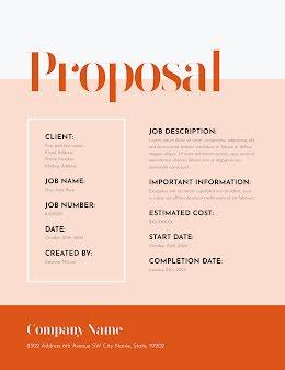 Important Proposal - Proposal item
