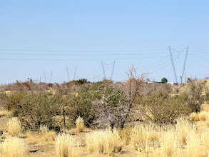 Photo: Along the road B1 to Keetmanshoop