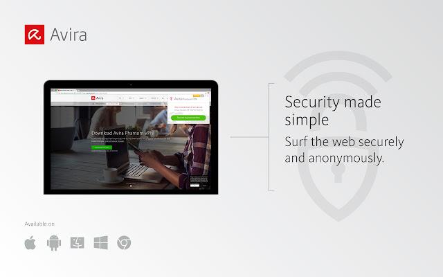 Free Avira Phantom VPN – Unblock Websites