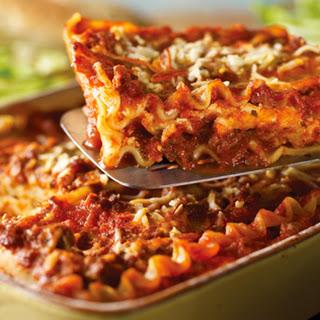 Classic Lasagna.