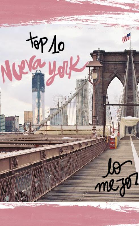 10 lugares imprescindibles que visitar en Nueva York.