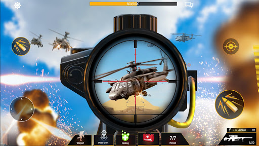 Sniper Game: Bullet Strike - Free Shooting Game Apk 1
