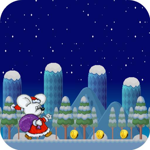 Mouse Cartoon Christmas Run