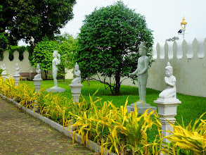 Photo: walkway inside Royal Palace