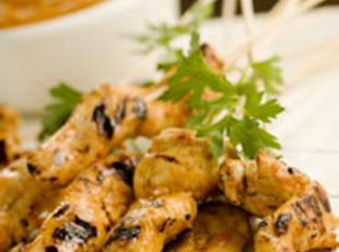 Grilled Chicken Skewers With Satay Sauce Recipe