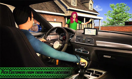 Yellow Cab American Taxi Driver 3D: New Taxi Games  screenshots 1