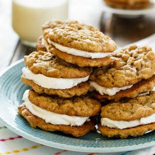 Oatmeal Sandwich Cookies.