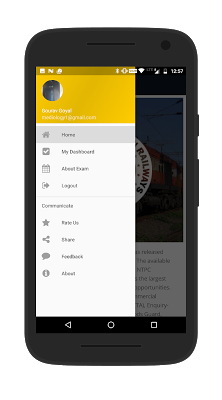 RRB- Railway Recruitment Board - screenshot
