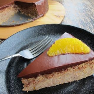 Hazelnut Chocolate Torte With Espresso Ganache.