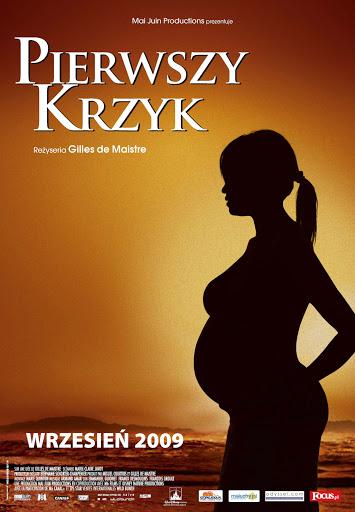 Polski plakat filmu 'Pierwszy Krzyk'