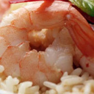 Garlic Shrimp Rice Bowl.