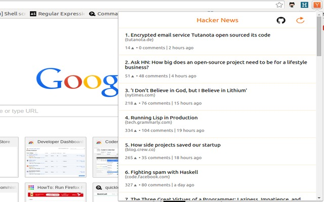 Hacker News Feed
