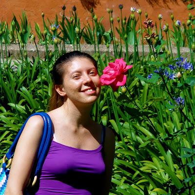 Nel giardino del Real Alcazar di Siviglia di djelem_gipsy