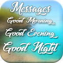 Good Morning, Good Evening, Good Night Messages icon