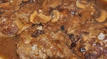 I Found It Mom's Salisbury Steak Recipe