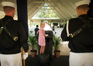 Photo: Piper Van Wagenen, one of Neil Armstrong's 10 grandchildren, is seen during preparation of a memorial service celebrating the life of Neil Armstrong, Friday, Aug. 31, 2012, at the Camargo Club in Cincinnati. Armstrong, the first man to walk on the moon during the 1969 Apollo 11 mission, died Saturday, Aug. 25. He was 82. Photo Credit: (NASA/Bill Ingalls)
