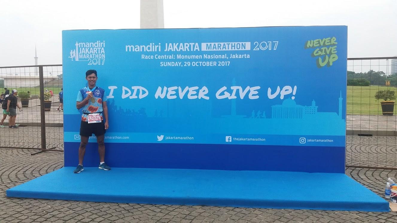 Sah jadi marathoner!