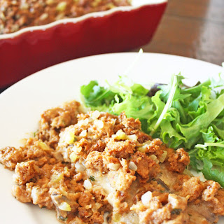 Chicken and Stuffing Bake